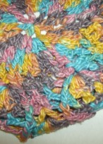 Darn Good Yarn - Sport Weight Recycled Silk (color unknown)
